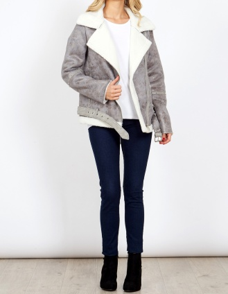 Blue VAnilla Grey Shearling 3